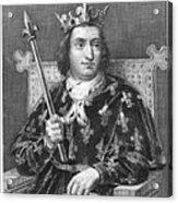 Charles V (1337-1380) Acrylic Print