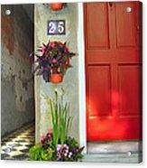 Charleston Home Series Acrylic Print by Wendy Mogul