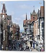 Chester City Centre Acrylic Print