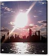 Chicago Sunset Acrylic Print