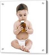 Child Danger Acrylic Print by