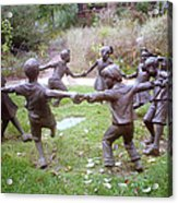 Children Dancing Acrylic Print