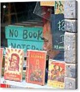 Chinese Bookstore Acrylic Print