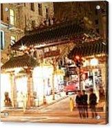 Chinese Gate Acrylic Print