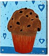 Chocolate Chip Cupcake Acrylic Print