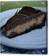 Chocolate Peanut Butter Cheesecake Acrylic Print
