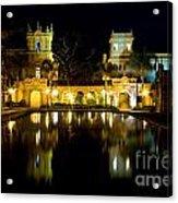 Christmas On The Prado Acrylic Print