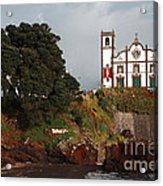 Church By The Sea Acrylic Print by Gaspar Avila