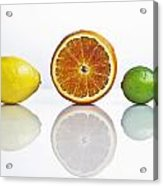Citrus Fruits Acrylic Print by Joana Kruse