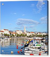 City Of Split In Croatia Acrylic Print