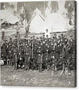 Civil War: Union Troops Acrylic Print