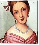 Clara Schumann (1819-1896) Acrylic Print