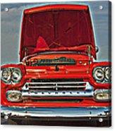 Classic Chevy Acrylic Print