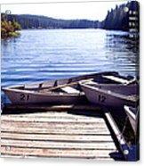 Clear Lake At Mckenzie Pass Acrylic Print