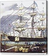 Clipper Ship, 1851 Acrylic Print