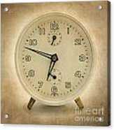 Clock Acrylic Print