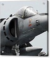 Close-up View Of An Av-8b Harrier II Acrylic Print