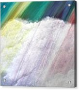 Cloud Within Rainbow Acrylic Print
