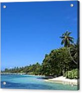 Coast Of Indian Ocean Acrylic Print