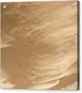 Coffee Clouds Acrylic Print