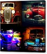 Collector Cars Acrylic Print