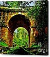 Colonial Era Bridge Acrylic Print