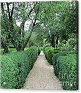 Colonial Garden Path Acrylic Print