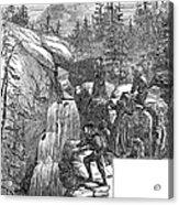 Colorado: Pikes Peak, 1867 Acrylic Print