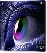 Colorful Eye Acrylic Print