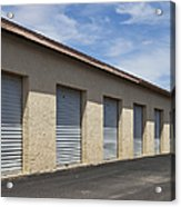 Commercial Storage Facility Acrylic Print by Paul Edmondson