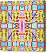 Computer Artwork Representing A Circuit Board Acrylic Print