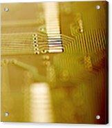 Computer Circuit Board Acrylic Print