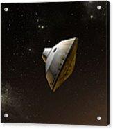 Concept Of Nasas Mars Science Acrylic Print
