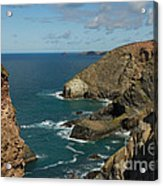 Cornish Seascape St Agnes  Acrylic Print