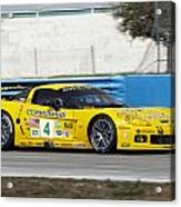 Corvette Racing C6r Acrylic Print