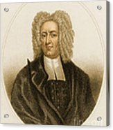 Cotton Mather, American Minister Acrylic Print
