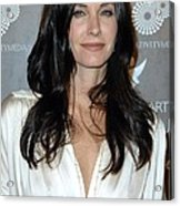 Courteney Cox Arquette At Arrivals Acrylic Print