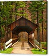 Covered Bridge Acrylic Print