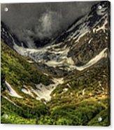 Cow Creek Drainage  Acrylic Print