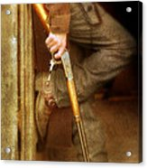 Cowboy With Guns  Acrylic Print