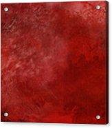 Crimson China Acrylic Print