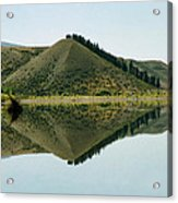 Cromwell Dam Reflections Acrylic Print