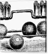 Croquet, C1900 Acrylic Print