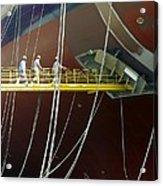 Crude Oil Tanker Acrylic Print