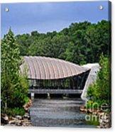 Crystal Bridges Museum Acrylic Print