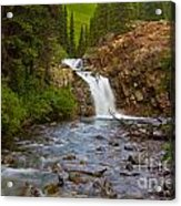 Crystal River Waterfall Acrylic Print