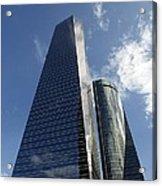 Ctba Skyscrapers, Madrid Acrylic Print