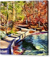 Cunningham Falls Walkway Acrylic Print