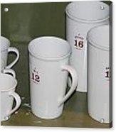 Cups Acrylic Print