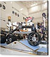 Curiosity Rover In The Testing Facility Acrylic Print